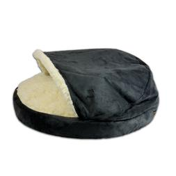 Snoozer Luxury Orthopedic Cozy Cave Pet Bed, Small, Anthraci