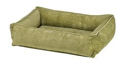 Bowsers Luxury Pet Bed Urban Lounger Microvelvet Fabric
