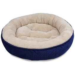 MagicCindy Pet Bed for Cats and Small Dogs Round Shape Soft