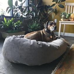 majestic pet villa collection micro velvet bagel