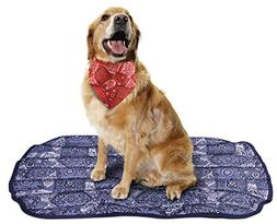 MiraCool Mat for Dogs - Keeps your pet cool for hours - Larg