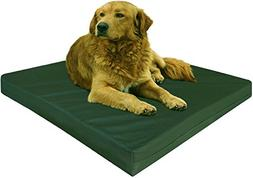 Dogbed4less Extra Large Orthopedic Memory Foam Dog Bed with