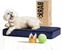 BarkBox Memory Foam Dog Bed Multiple Sizes/Colors; Plush Ort