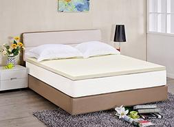 "2"" Memory Foam Mattress Topper 