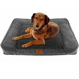 American Kennel Club Memory Foam Sofa Pet Bed AKC-1882 Gray