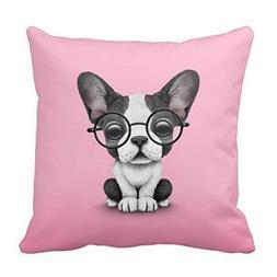 Mercedes Wells American Eskimo Dog Silhouette Throw Pillows