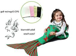 Amazing Mermaid Tail Blanket By ACRIMAX –Comfortable & Sof