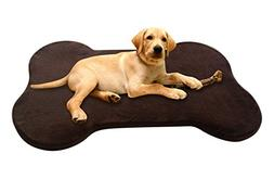 Microfiber Memory Foam Pet Bed/Travel Bed, X-LARGE This Pet