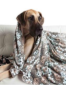 UTEX Premium Microfiber Pet Blanket, for Small/Medium/Large