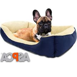 Microtech Dog Bed Small Medium Pets Material 100% Polyester