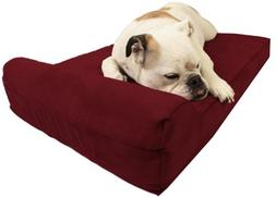 "Big Barker Mini - 4"" Pillow Top Orthopedic Dog Bed with Head"