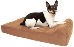 """Big Barker Mini - 4"""" Pillow Top Orthopedic Dog Bed with Head"""