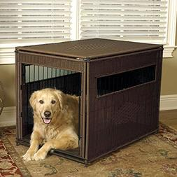 Mr. Herzher's Wicker Pet Residence - XLarge - 28W x 42D x 31