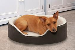 FurHaven NAP Pet Bed Orthopedic Oval Lounger Dog Bed or Cat