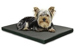 FurHaven Pet Kennel Pad   Reversible Two-Tone Water-Resistan