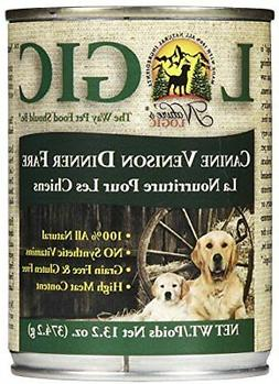 Nature's Logic Venison Canned Dog Food  12/13.2 oz/One Size