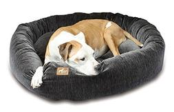 Nest Bolster, Extra Small - 20 L x 20 W, Charcoal