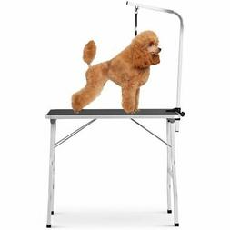 "NEW 36"" Large Pet Grooming Foldable Table Dog Cat Bed Noose"