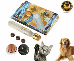 NEW Pedi Paws Nail Trimmer Grinder Grooming Tool Care Clippe