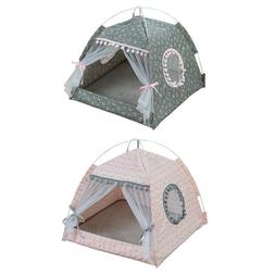 NEW Pet Cat <font><b>Tent</b></font> House Kennel Universal