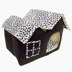 New Pet Dog Soft Bed M House Puppy Washable Kennel Mat Pad M
