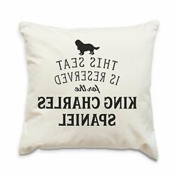 NEW - RESERVED FOR THE KING CHARLES SPANIEL - Cushion Cover