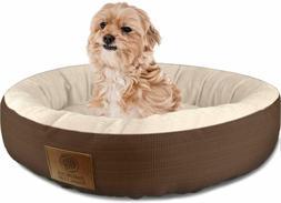 NEW Round Pet Bed Dog Cat Pad Medium Warm Soft Mat Puppy Cus