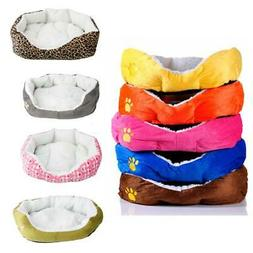 New S Size Small Pet Dog Cat Soft Fleece Warm Cotton Bed Hou