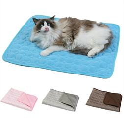 Non Toxic Pet Cat Dog Cooling Mat Summer Self-cooling Samll