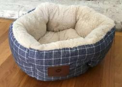 """American Kennel Dog Bed  Cozy 19"""" Round Pet Bed NWOT"""