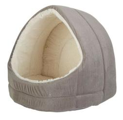 NWT Best Friends By Sheri Pet Hut Bed Gray