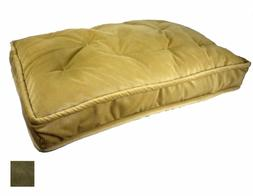 ODonnell Industries 42881 X-Large Pillow Top Pet Bed - Olive