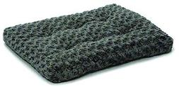 Midwest Ombre Gray Swirl Fur Pet Bed 42