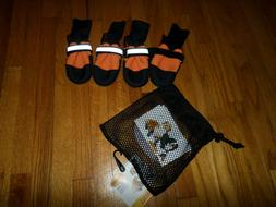 MUTTLUKS Orange XS XSmall NEW Winter All weather Dog Boots L