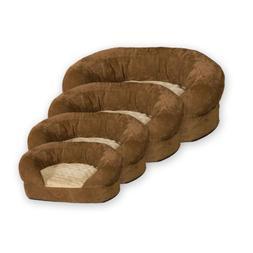 K&H Manufacturing Ortho Bolster Sleeper X-Large Brown Velvet
