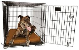 Orthopedic 4 Dog Crate Pad - Waterproof & Tear Resistant - F