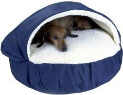 Snoozer Orthopedic Cozy Cave Pet Bed, Large, Khaki