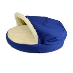 Snoozer Orthopedic Cozy Cave Pet Bed, Small, Royal Blue