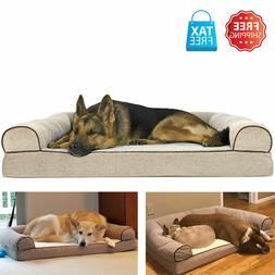 Orthopedic Cushion Bed Sofa K9 Pet Warm Couch Great Dane Pup