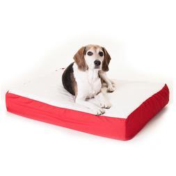 "Majestic Pet Products Orthopedic Dog Bed size: 24""L x 34""W x"