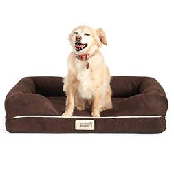 Friends Forever Orthopedic Dog Bed Lounge Sofa Removable Cov