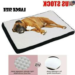 Orthopedic Dog Bed Memory Foam Cozy Sherpa Washable Cover La