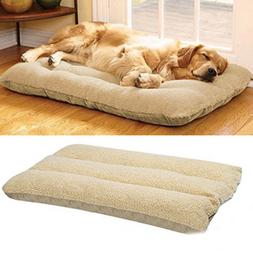 Orthopedic Dog Bed Pet Lounger Deluxe Cushion for Crate Foam