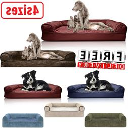 Orthopedic Dog Sofa Bed Foam Cat Pets Comfortable Large Jumb