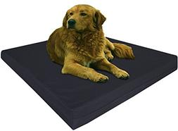Dogbed4less Extra Large Orthopedic Gel Infused Memory Foam D