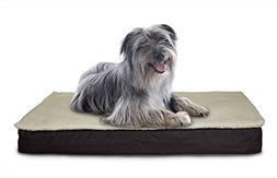 Furhaven Orthopedic Mattress Pet Bed, Large, Convertible Esp