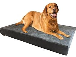 Dogbed4less Premium Orthopedic Memory Foam Dog Bed, Waterpro