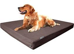 Dogbed4less Premium Extra Large Orthopedic Memory Foam Dog B