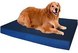 Dogbed4less XL Premium Orthopedic Memory Foam Dog Bed, Durab