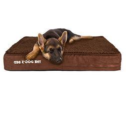 Orthopedic Memory Foam Waterproof Dog Bed, Quality Oxford Fa